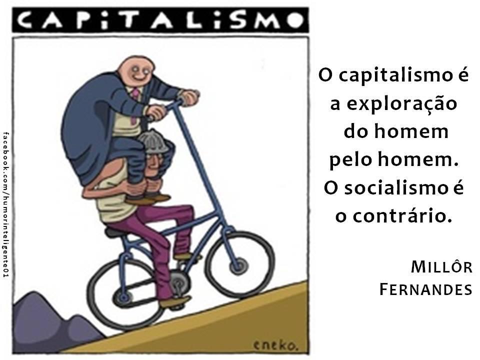 O que nos impede de usar o que há de melhor no capitalismo e no comunismo? - Flávio Chaves