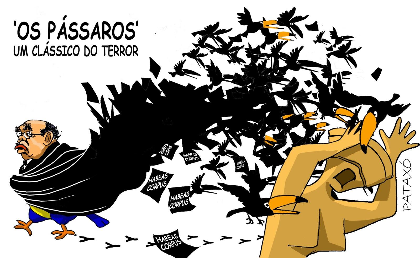 """Lava-Jato ironiza Gilmar Mendes e diz que as críticas dele não passam de """"devaneios"""" - Flávio Chaves"""